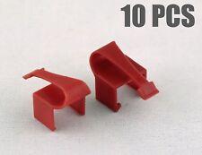 RJCLIP (10 PCS RED Color) -  Broken RJ45 fix repair CAT5 CAT5e CAT6 connectors
