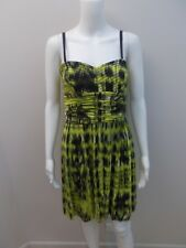 COUNTRY ROAD SILK EXPOSED ZIP OCCASIONS DRESS SIZE 10 (#H1279)