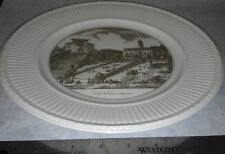 Wedgwood China Plate The Capitol and the Steps of St. Mary in Aracoeli Scenes