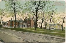 Hospital and Nurses Home Williamsport PA Postcard 1910