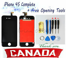 For iPhone 4S Replacement Touch Screen LCD Digitizer Assembly+ Tools Kit (Black)