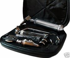 NEW!! Deluxe Pro-Physician ENT (Ear Nose & Throat) Kit - Otoscope Ophthalmoscope