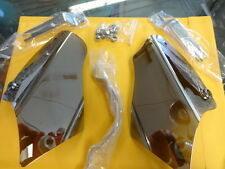 HARLEY DAVIDSON 2000-2011 SOFTAIL  REFLECTIVE SMOKE AIRMASTER SADDLE SHIELDS