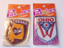 vintage LOT 2 PATCH AMERICAIN Insigne ecusson VOYAGER emblems inc USA us STATES