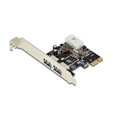 Ewent Scheda PCI Express USB 3.1 2 porte esterne Argento
