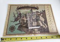 Tokyo Disney Sea Map of Fortress Explorations Vintage Authentic DisneySea