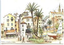 CP 06 Alpes-Maritimes - Menton - Aquarelle Robert Lepine