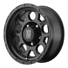 "4-NEW XD Series XD122 Enduro 16x9 8x165.1/8x6.5"" -12mm Matte Black Wheels Rims"
