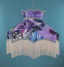 Fabric Art Nouveau Lightshades