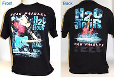 Brad Paisley H2O World Tour T-Shirt Whiskey Lullaby Mud on the Tires Size L