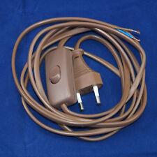 2m Anschlussleitung mit Schnurzwischen-Schalter Eurostecker 230Volt max. 2,5A
