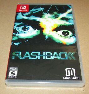 Flashback (Nintendo Switch) Brand New / Fast Shipping