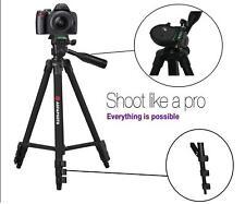 "AGFAPHOTO 50"" Pro Tripod With Case For Panasonic HDC-SD80 HDC-TM40"