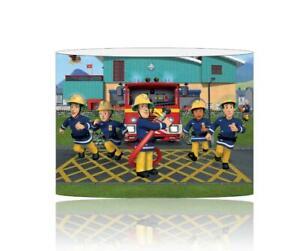 (099)  FIREMAN SAM LIGHTSHADE / CEILING LIGHT SHADE KIDS FREE P+P