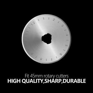 5x Ersatzklingen für Rollschneider Rundmesser Patchwork Rotary Klinge 28-60mm DE