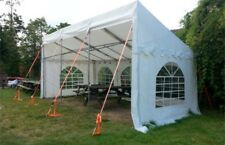3mx6m 650gsm PVC deluxe demi marquee/lean to shelter