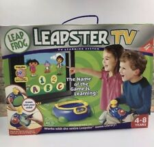 LeapFrog Leapster TV Learning System Electronic Learning Aid Notepad Systems
