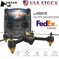 Hubsan H501S 10CH 5.8G FPV Brushless HD 1080P Camera GPS RC Quadcopter Drone RTF