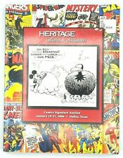 2006 HERITAGE Comics Signature Auction Catalog #819 Mickey Mouse