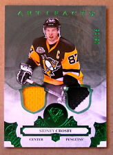 2017-18 SIDNEY CROSBY UPPER DECK ARTIFACTS EMERALD PATCH / JERSEY SP / 25