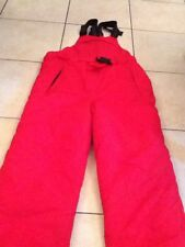 Pantalon De Ski Rouge 16 Ans