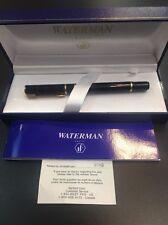 Waterman Laureat Medium Fountain Pen Shadowed Red Color In Case