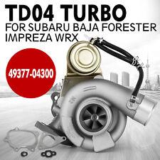 TURBO CHARGER for SUBARU BAJA FORESTER IMPREZA WRX TD04 49377-04300