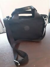 Kipling Black Zip Top Handbag with Handles + Shoulder Strap Lightweight