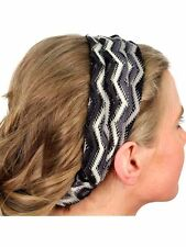 Black and Gray Ombre Head Band