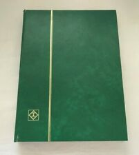 Vintage Stamp Stock Book Album & 1,000+ Used  GB QEII Postage Stamps M805