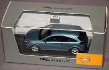 Opel Astra GTC in Light Blue 1:43 Scale Dealer Edition Model