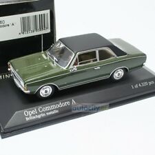 MINICHAMPS OPEL COMMODORE A BRITISHGRUN METALLIC 430046160