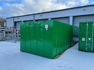 32x10 AV open plan canteen,Lighting & electrics, portable cabin