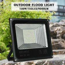 9000LM 100W 150LED FloodLight Spotlight Garden Yard Landscape Outdoor Lamp light