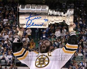Zdeno Chara Boston Bruins Signed Autographed Screaming Stanley Cup 16x20 H
