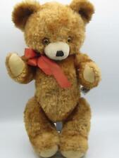 "Plush Teddy Bear Stuffed toy Knickerbocker made in Japan 16"" Old Fashioned bear"