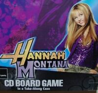 Hannah Montana CD Board Game Miley Cyrus Disney