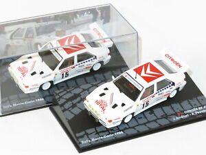 1/43 Citroen BX 4TC Total   Group B   Rally Monte Carlo 1986  J.C.Andruet