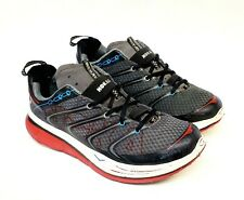 Hoka One One Rapa Nui 2 Men's Size 9 Running Hiking Trail Shoes - Black Gray Red
