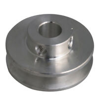 Aluminum Alloy 16MM Dia Bore V Groove 5 Step Pulley for 3-5MM PU Round Belt