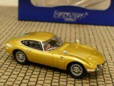 1/87 Ricko Toyota 2000 GT gold RHD 38316