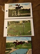 WWII US Cavalry Postcards Ft Riley Kansas
