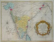 INDIA - A NEW MAP OF CORMANDEL, MALABAR, BENGAL..... UNIVERSAL MAGAZINE C. 1756.