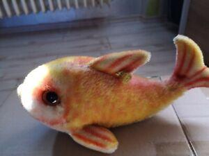 Steiff alter Fisch Flossy mit der Nummer 2322,01