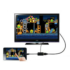 NEW Micro USB 2.0 MHL To HDMI Cable HD 1080P For Samsung Galaxy S2 Android