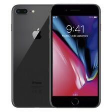 APPLE IPHONE 8 PLUS 64GB TELEFONO MOVIL LIBRE SMARTPHONE COLOR NEGRO BLACK 4G