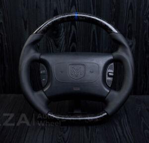 Dodge Ram Carbon Fiber steering wheel Durango Dakota Ram1500 2500 3500 98-2003