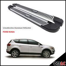 Schwellerrohre Aluminium Trittbretter für Ford Kuga 2008 - 2013 Pyramid (183)