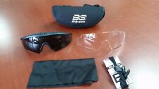 Body Specs Tactical Military Defense Eyewear, 100% UV, Plastic, Anti-Scratch