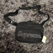 Supreme black shoulder bag fw18 box logo